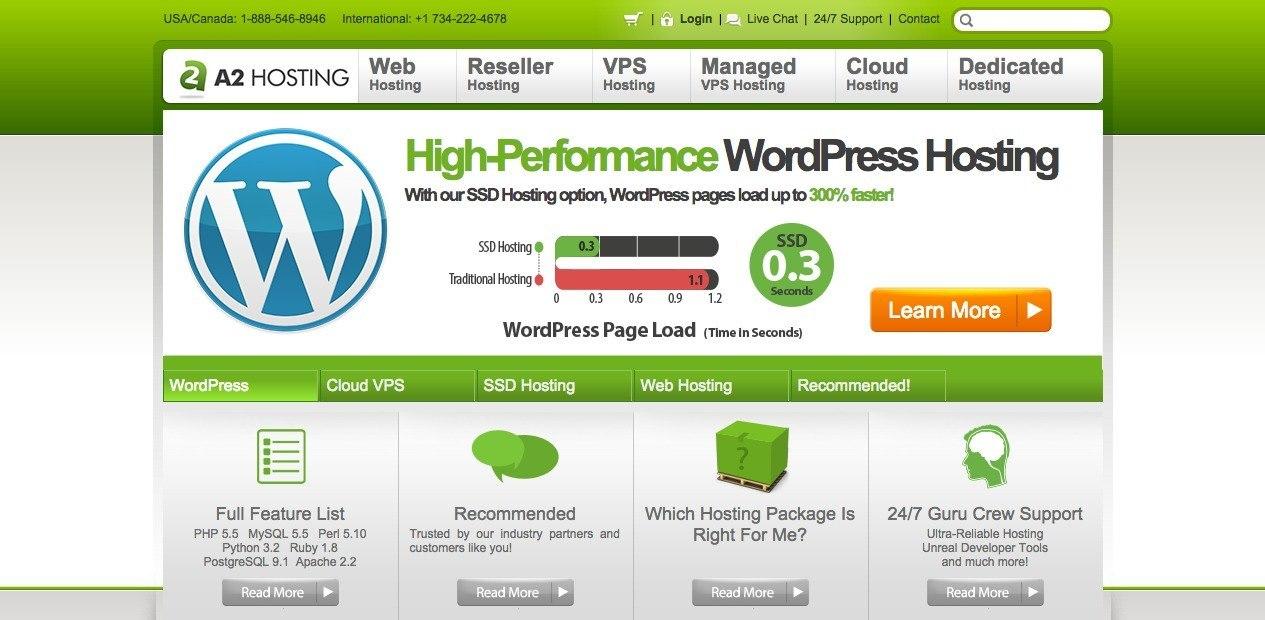 A2 Hosting Reviews, wordpress,vps and shred reviews