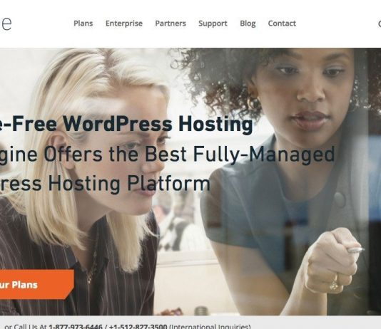 WP Engine Industry Leading Managed WordPress Hosting